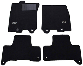 Genuine Toyota - Front and Rear Carpet Floor Mat review