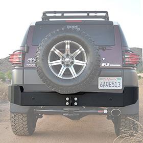 Body Armor - Best Steel Rear Bumper