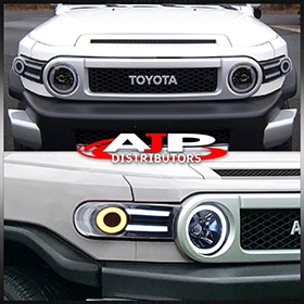 Toyota FJ Cruiser DRL Headlights
