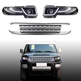 Lsailon – RR-style Headlights for Toyota FJ Cruiser